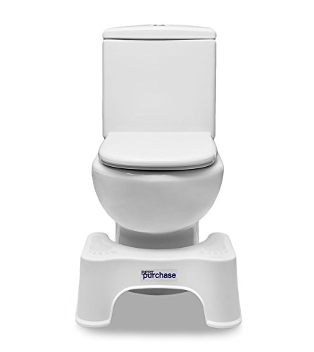 Tabouret physiologique salle de bain antidérapant | Les toilettes tabouret | Tabouret de toilettes pour mouvements instestinaux wc| femmes enceintes | Banc de bain | evacuation complete facile | Repose-pieds