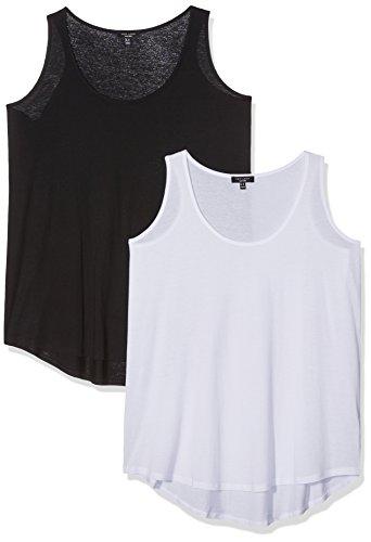 new-look-curves-two-pack-top-para-mujer-black-black-pattern-54