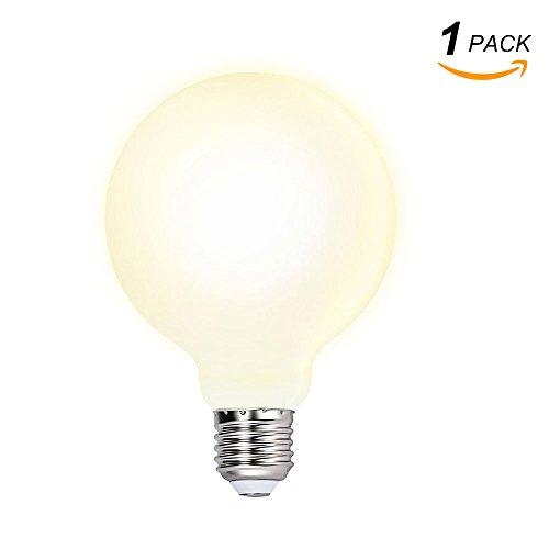 Meilleure affaire ENUOTEK Grosse Lampe Ampoule Globe Economique LED E27 Edison G95 Blanc Chaud 3000K pour