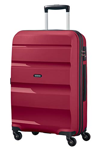 American Tourister Bon Air - Spinner Medium Koffer, 66 cm, 57.5 Liter, Burgundy Purple