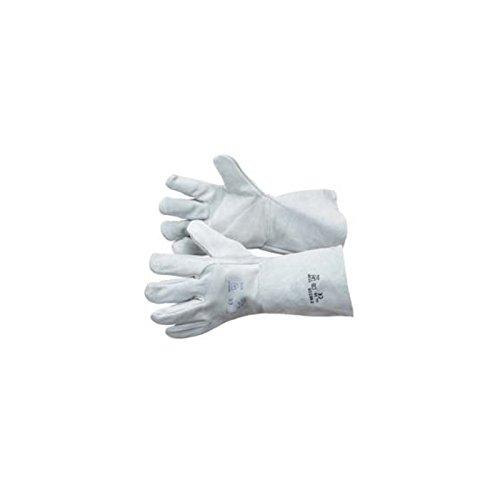 Gants de soudeur-taille 10-Manchette confort 15cm-Cuir extra souple-gant soudeur protection chaleur courte durée accidentelle