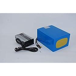 96V 40Ah 3840Wh Akkupack Pedelec E-Bike Scooter Boot Lithium-Ionen Batterie Battery incl. 50A BMS + 4A Ladegerät