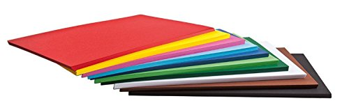 125 Blatt Tonkarton Tonpapier DIN A2 viele Farben 160g/qm Großhandelspackung