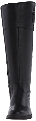 Rockport Tristina Rosette Tall Boot Cuir Botte Black