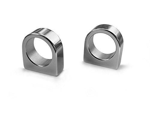 NeoMagNova®   2 Magnethalter für STAEDTLER Lumocolor 351, Sigel GL711, GL712, GL715   Extrem starke Neodym Magnete – auch für Glasmagnettafeln geeignet