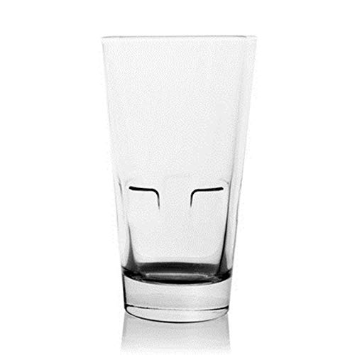 Z-Wenquan-glass, Kreative Weinglas Becher Tasse Kaffee Personalisierte Gläser Whisky Becher Fincan Home Transparent Entsafter Tasse Tee Büro (Capacity : 301 400ml, Farbe : Transparent)