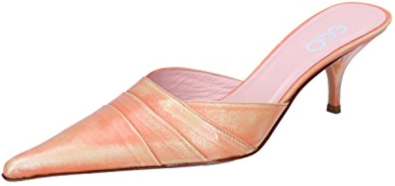GOZZI EGO Zapatos de Vestir de Piel Para Mujer Naranja Arancione
