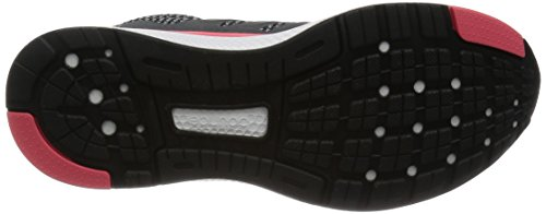 adidas Mana Bounce W, Chaussures de Running Entrainement Femme, Gris Noir / Gris / Rose (Negbas / Grivis / Rubsup)