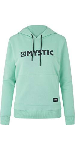 Mystic Watersports - Surf Kitesurf & Windsurfing Frauen Brand Hoodie Jumper Mist Mint Logo Print auf der Brust