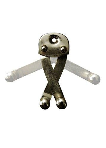 Espada Soporte de pared de acero gancho de pared para espada niquelado...