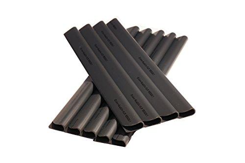 50 Stück PVC - Sichtschutzstreifen - Klemmschienen - Sichtschutz/ Windschutz für Garten und Zaun - Befestigungsclips - Doppelstabmattenzaun - Anthrazit Universal