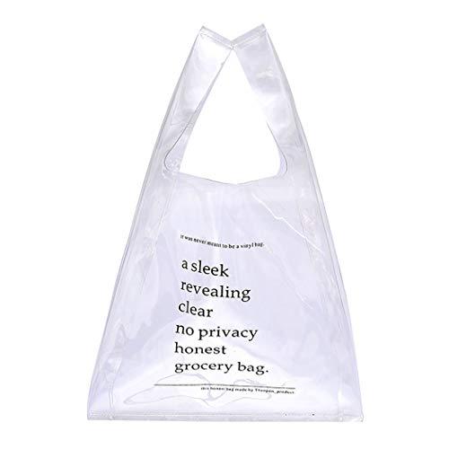 Modische Einkaufstaschen (Coafit Einkaufstasche Modische Durchsicht Klar Einkaufstasche)
