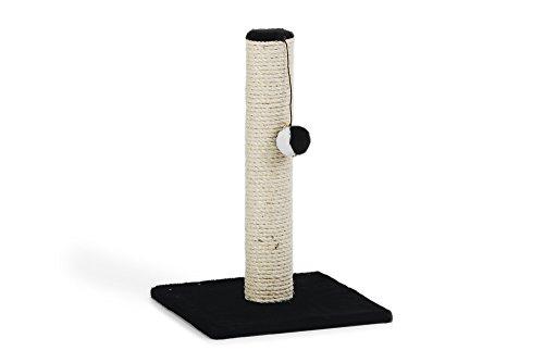 katzeninfo24.de Beeztees 408827 Kratzbaum Gina Mini, 30 x 30 x 45 cm, schwarz