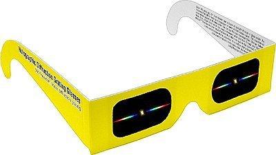 50 Holographische Beugungsgitter-Gläser - Linear 500 Linien/mm (Wissenschaft Experimente Licht)