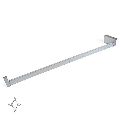 2 pacco,bianco,a batteria OxyLED luci a sfioramento,4 LED Touch Tap Light,Stick on ovunque luce di spinta,sensore tattile senza fili LED Night Light,luci scale,pannello luminoso ruotabile di 180/°