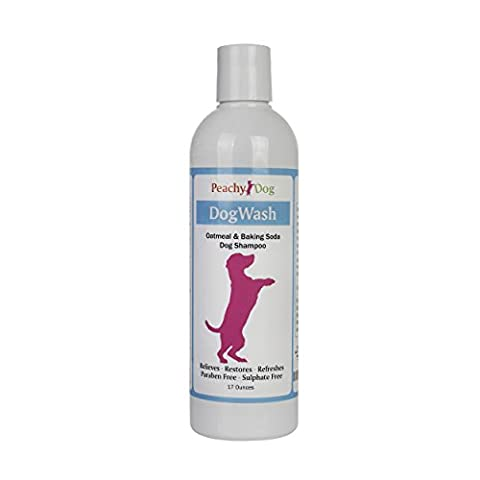 DogWash Natural Oatmeal Pet Shampoo Effectively Soothes Irritations, Moisturizes and Heals Skin, Repairs Damaged Hair, Neutralizes Odors and