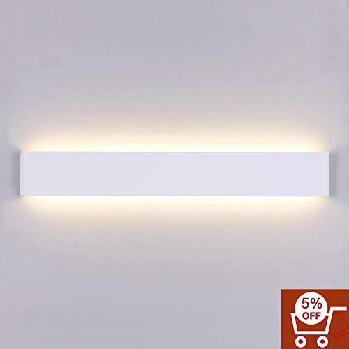 Yafido Wandleuchte Innen LED 20W Wandlampe Up Down AC 230V Warmweiß für Schlafzimmer Wohnzimmer...