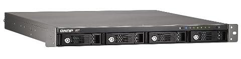 Qnap TS-412U NAS-System (8,9 cm (3,5 Zoll), 4-Bay Diskless, 1,2GHz, SATA, USB 2.0)