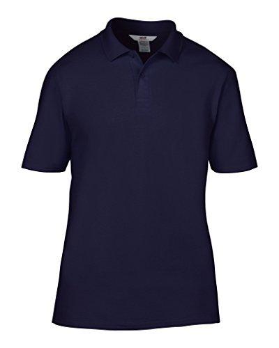 MAKZ Herren Poloshirt Blau - Navy