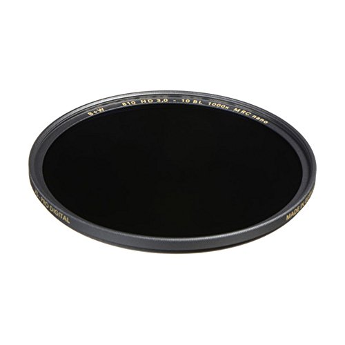 B+W 1089241 Graufilter ND1000 46mm, MRC nano, XS-Pro, 16x vergütet, slim, Premium matt-schwarz