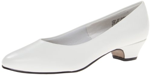 Soft Style Women's Angel II Dress Pump,Putty Elegance,10 M US White Elegance