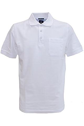 Pierre Cardin Cotton Polo-Shirt weiß in S