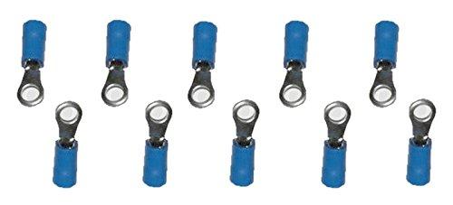 Bague mâle Connecteurs Mâle Bleu M4 2,5 mm2 10 pièces (0008)