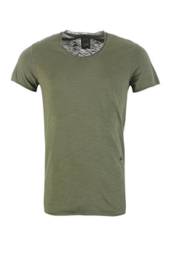 JACK & JONES Jor Tee Ss U-Neck Noos, T-Shirt Uomo Verde scuro