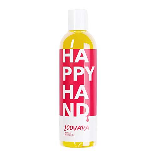Loovara HappyHand Aceite masaje erótico (250ml) Aceites para masajes eróticos