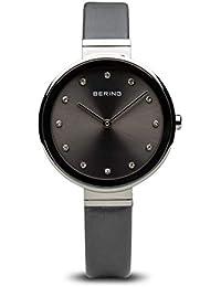 Bering Reloj Analogico para Mujer de Cuarzo con Correa en Tela 12034-609 43307fd3048f