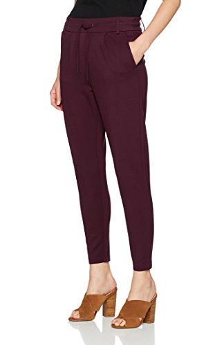 ONLY NOS Damen Hose Onlpoptrash Easy Colour Pant Pnt Noos, Grau (Port Royale), W26/L30