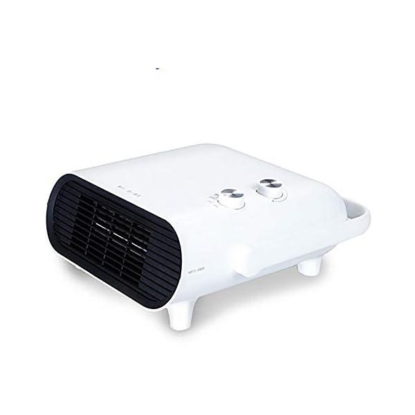 Calentador Espacial, Mini Ventilador Calefactor Personal, Viento Cálido / Natural Para Baño, Oficina Y Hogar, 3 Modos… 1