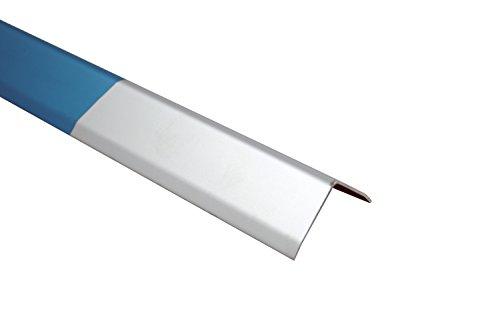 Kantenschutzwinkel Aluminium eloxiert Silber-Matt