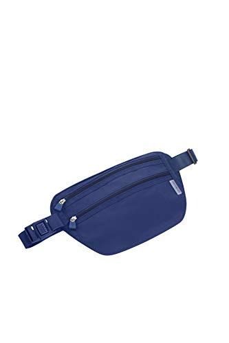 Samsonite Global Travel Accessories - Sac Banane avec Blocage RFID, 26 cm, Bleu (Midnight Blue)
