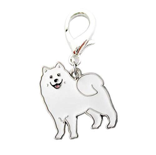 axuanyasi Dog ID Tag Dog Schlüsselanhänger niedliches Haustier Metall Schlüsselanhänger Dog ID Tags -