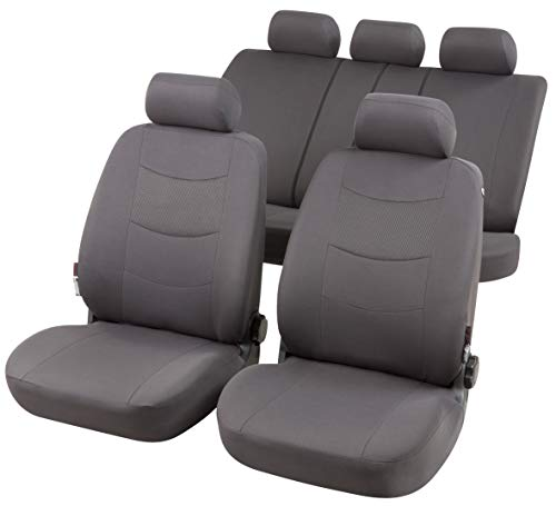 rmg-distribuzione Coprisedili per Modus Versione (2004-2012) compatibili con sedili con airbag, bracciolo Laterale, sedili Posteriori sdoppiabili (RMG33) R33S0721