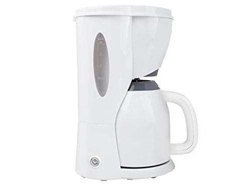 Tristar CM-1243 Cafetera Eléctrica, 900 W, 1 Liter, Blanco