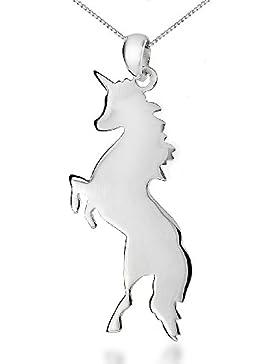 Tuscany Silver Rolokette Mit Anhänger Sterling Silber Einhorn 51cm/20'
