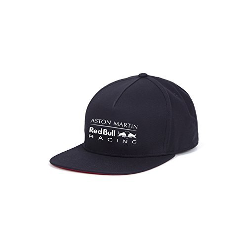 Aston Martin Red Bull Racing F1 Team Flat Brim Cap Snapback 2018