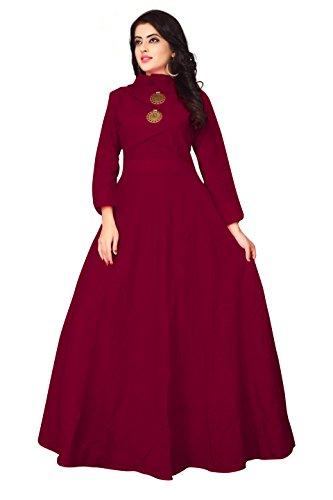 Leriya Fashion Women's A-line Cotton Kurti (k2067-XL)