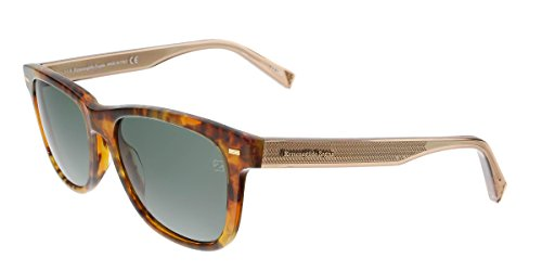 Ermenegildo Sonnenbrille Zegna (Ermenegildo Zegna EZ0028 C54 55N (coloured havana / green) Sonnenbrillen)