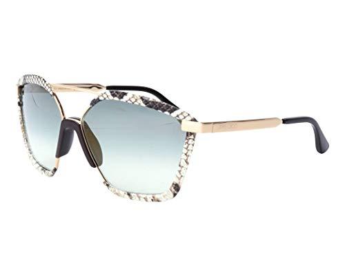 Jimmy Choo Sonnenbrillen (LEON-S 09QEZ) mix gestreift - gold - blau-grau verlaufend mit verspiegelt effekt
