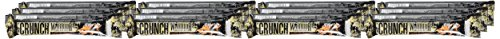 Warrior Crunch High Protein Low Carb Bar, Salted Caramel, 64 g, Pack of 12