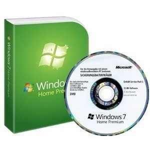 Windows 7 Home Premium 64Bit Deutsch SB Version für wiederaufbereitete PCs