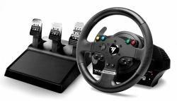THRUSTMASTER Hercules TMX PRO-Set di Volante e Pedali-Filo-per PC Microsoft Xbox-Volante-12Tasti, 4460143