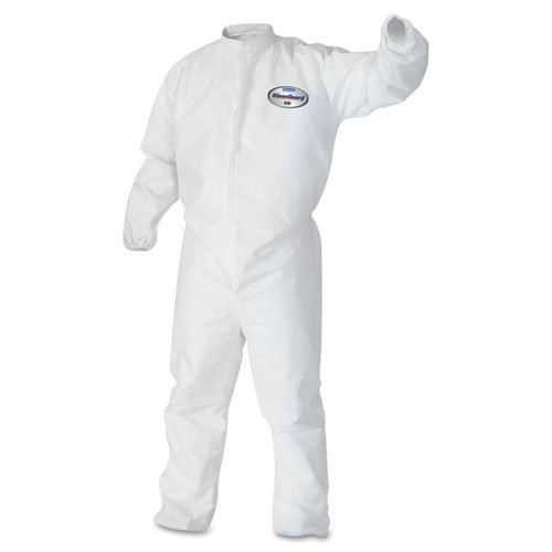 kcc46104-kleenguard-a30-elastic-back-amp-cuff-coveralls-white-x-large-by-kimberly-clark