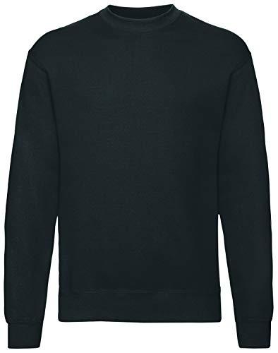 Fruit of the Loom Herren 62-202-0 Sweatshirt, Schwarz, 2X-Large
