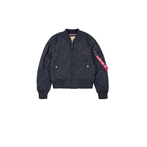 Alpha Industries MA-1 TT Kinder Jacke Dunkelblau 92 -