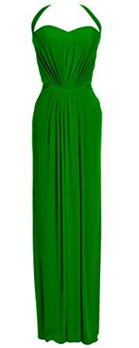 MACloth - Robe - Dos nu - Sans Manche - Femme Vert - Vert