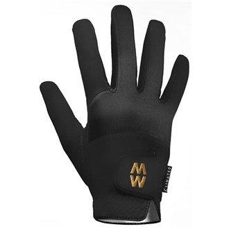 Preisvergleich Produktbild Glenmuir MacWet WINTER CLIMATEC Herren Kurze Stulpe Golf Handschuhe mit Aquatec Stoff,  winddicht & wasserabweisend Gr. 40,  Schwarz - Schwarz